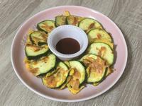 櫻花蝦節瓜煎餅