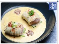 【南僑讚岐】金沙豚肉卷麵壽司