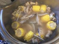 (全素蔬食)巴西磨菇蓮藕玉米湯