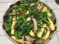 (全素蔬食)菠菜溫沙拉