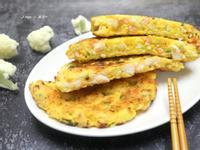 白花椰蝦仁煎餅
