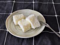 超簡單雪花糕食譜|用嘉南椰漿羊乳做雪花糕