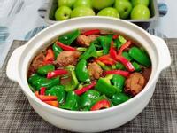 醬燒雞拌青椒