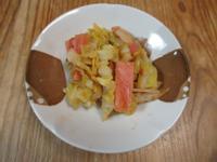 自製豆瓣醬高麗菜