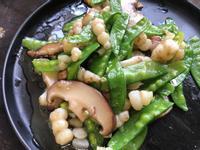 十分鐘健康出好菜:素冬蟲炒豌豆