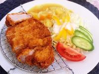 咖哩炸豬排飯(鹽水漬)