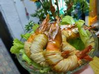 香酥千絲大蝦(飛利浦氣炸鍋)