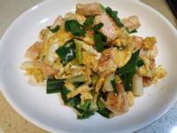 蔥香鮭魚炒蛋