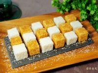 椰香雪花糕 (花生椰奶糕) ~創意棋盤糕