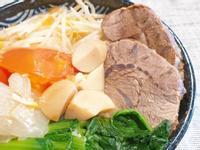 [🥘湯]  清燉牛腱湯麵(壓力鍋)