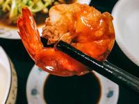 「濃郁噴香」甜辣鮮香的吮指燒汁大蝦