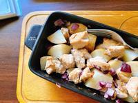 洋蔥馬鈴薯烤雞胸|烤箱料理