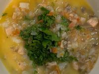 奶油鮭魚燉飯~配方奶寶寶粥