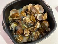 蒜頭米酒蛤蜊 (飛利浦氣炸鍋)