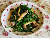 ❤ 海蘆筍炒菇 ❤️
