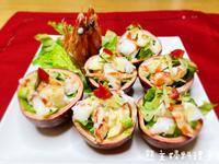 百香明蝦盅(福牛賀新春)