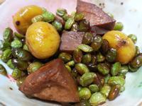 芋頭毛豆燒栗子