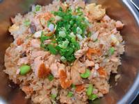 鮭魚毛豆炊飯