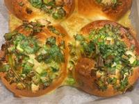蔥花麵包-飛利浦氣炸鍋