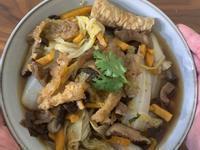 老菜脯膨皮白菜滷,煮出獨特鮮味