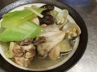 香菇蛤蜊刈菜雞