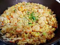 咖哩玉米炒飯