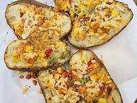 白醬鮮蔬焗烤馬鈴薯(飛利浦氣炸鍋)