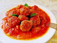 義式蕃茄肉丸