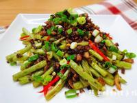 乾煸梅干菜四季豆(簡易/下飯菜)