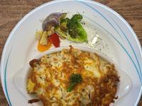 義式白醬雞胸肉焗烤燉飯(飛利浦氣炸鍋)