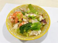 仿阿基師的超簡單海鮮湯麵