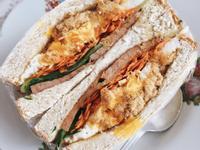 「每日的鮮」簡便的三明治包法及食材列舉
