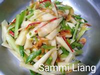 櫻花蝦炒茭白筍