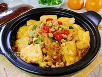 肉末豆腐粉絲煲
