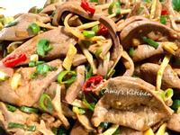 家常菜-涼拌豬肝 (下酒菜)