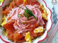 和風番茄雞蛋麵★簡單營養的快速麵料理
