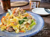 味噌豚肉炒高麗菜