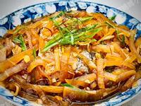 蘿蔔絲燒帶魚