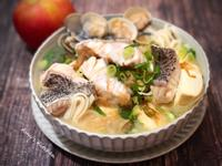 鱸魚味噌湯麵