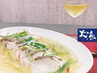 日式清蒸紅魽豆腐