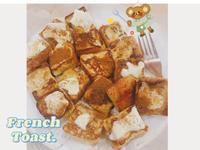 法式奶油吐司塊🧈|消吐司料理|低糖低卡