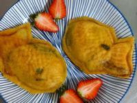 起司鮭魚蛋餅雕魚燒