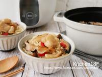 高麗菜麻油雞飯_電鍋料理