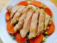 高麗菜蒸雞腿排(電鍋版)