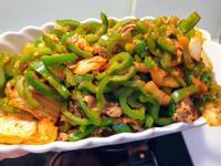 炒青椒泡菜豬肉