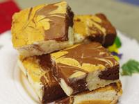 【可可大理石優格蛋糕】簡單而且非常好吃!