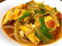 蔥燒茄汁豆腐
