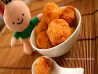 小人兒副食品【9-12個月】--馬鈴薯炸鮭魚丸子
