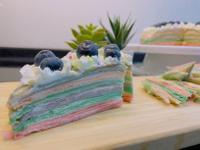 彩虹千層蛋糕 薄餅機 輕鬆好學