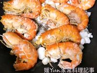 。鹽烤泰國蝦。